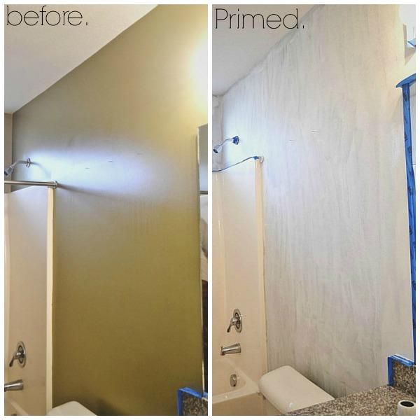 bathroom makeover part one - lizmarieblog.com
