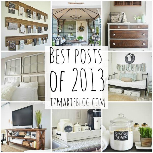 Best posts of 3013 - lizmarieblog.com