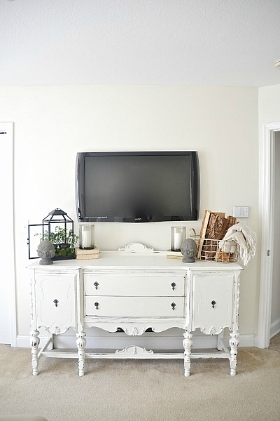 DIY chalk paint, Buffet Makeover with DIY Chalk Paint