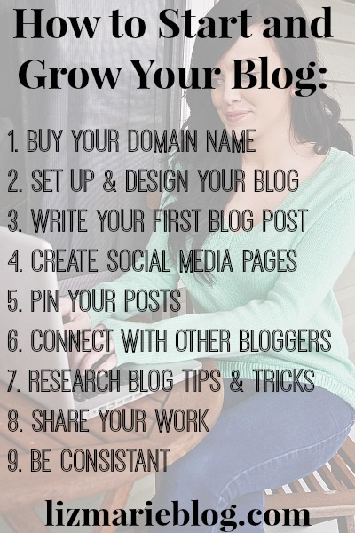 how to start a blog, How To Start & Grow Your Blog
