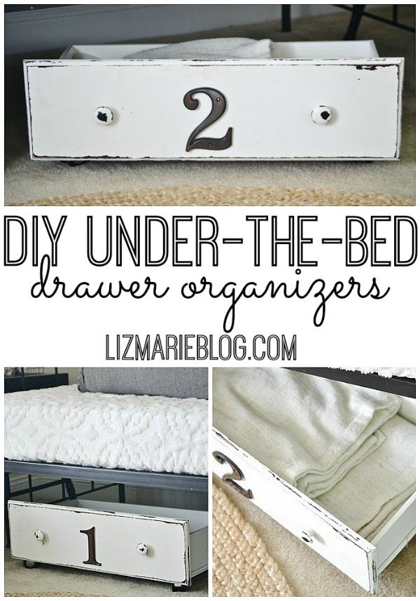 DIY Under-the-bed storage, DIY Under-The-Bed Storage