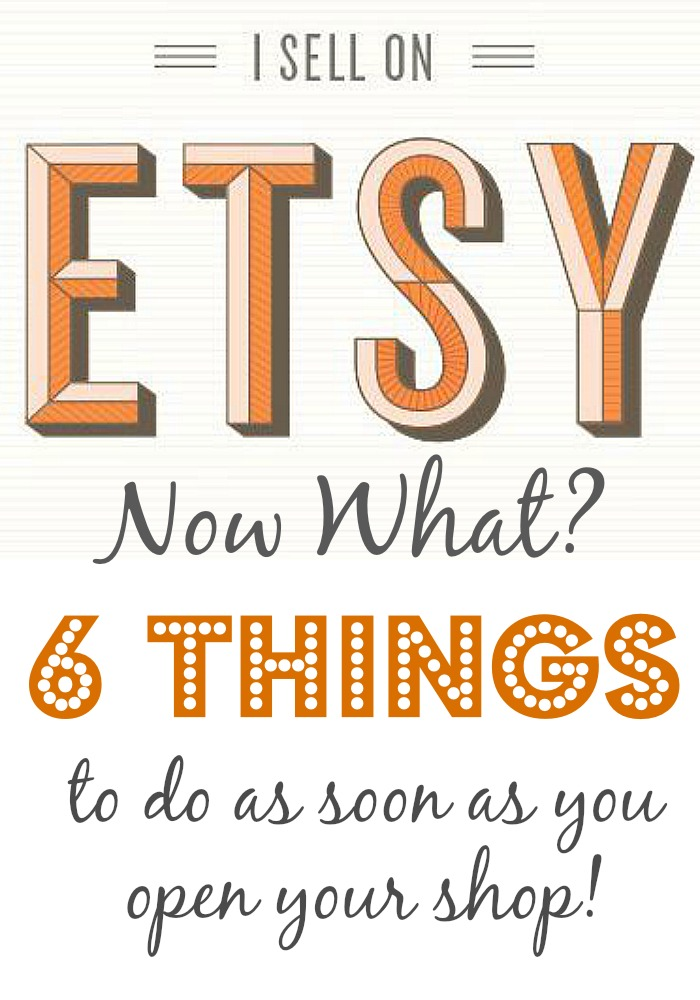 I opened an etsy shop, I Opened An Etsy Shop, Now What?