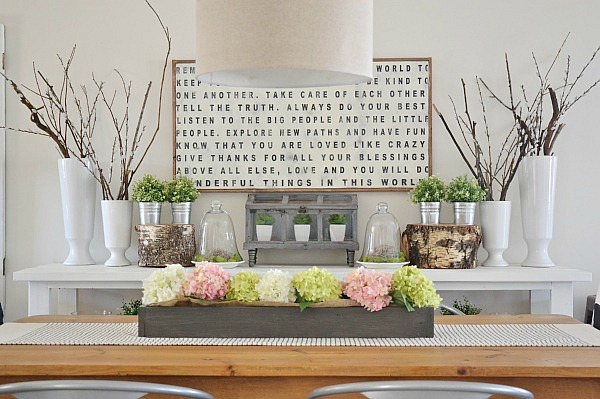 spring dining table, Spring Dining Room