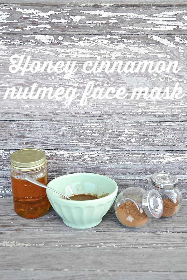 DIY Honey Cinnamon Nutmeg Face Mask
