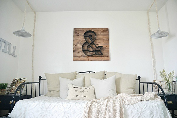 Front Guest Bedroom, Final 'NC Home' Home Tour – Front Guest Bedroom