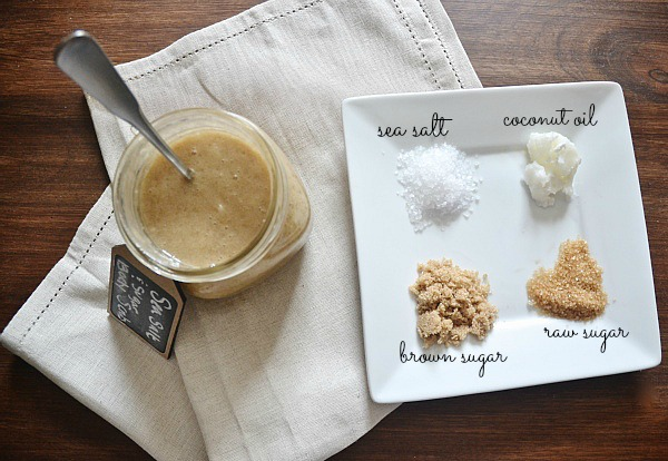 DIY sea salt and sugar scrub, DIY Sea Salt and Sugar Scrub