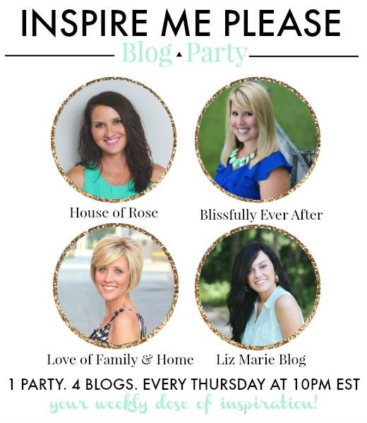 , Inspire Me Please Linky Party