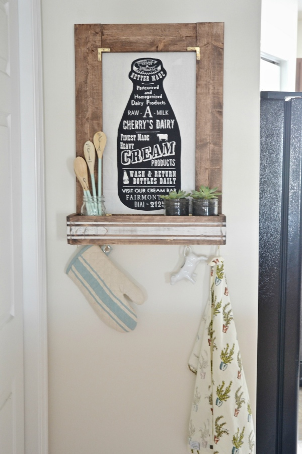 DIY Planter Box Picture Frame