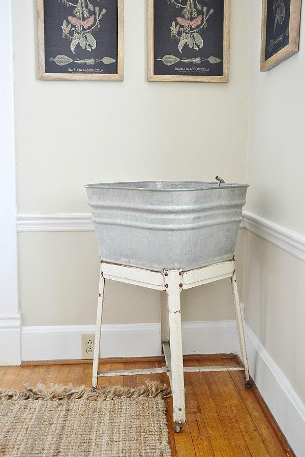 DIY wash tub Garden, DIY Wash Tub Garden