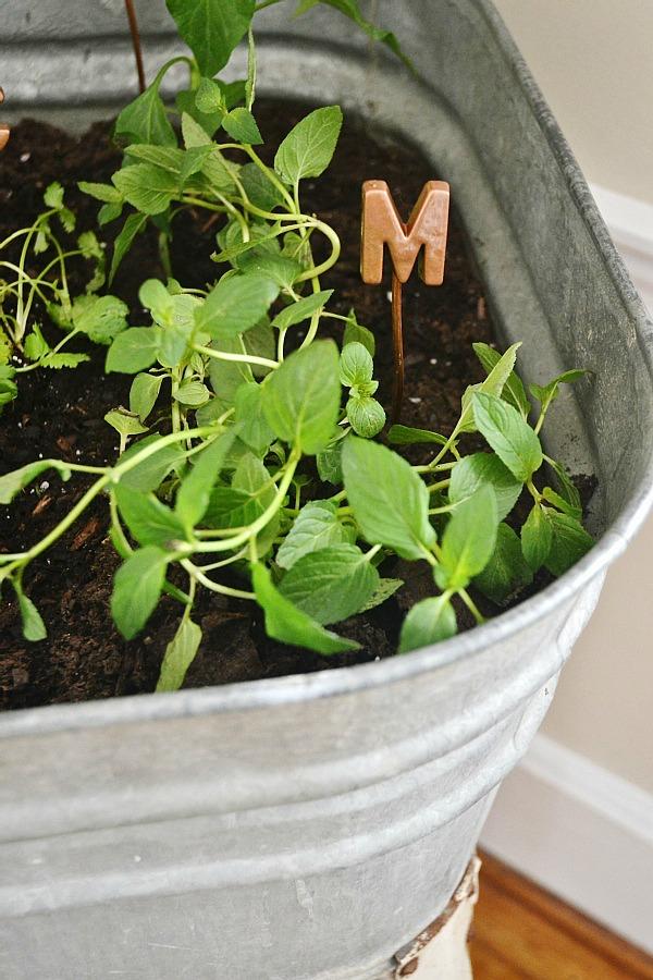 DIY copper garden markers - so easy to make!!