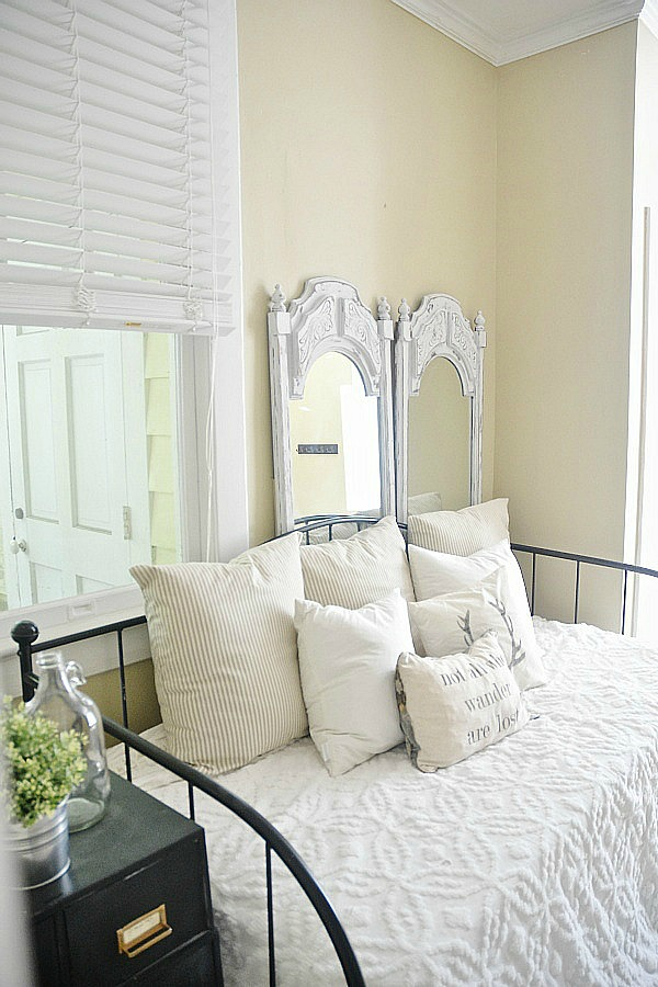 Painted Mirrors- LMB Rental Daybed Room