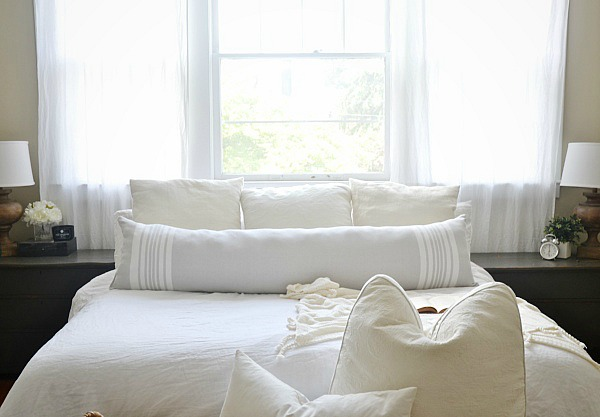 DIY Extra Long Lumbar Pillow