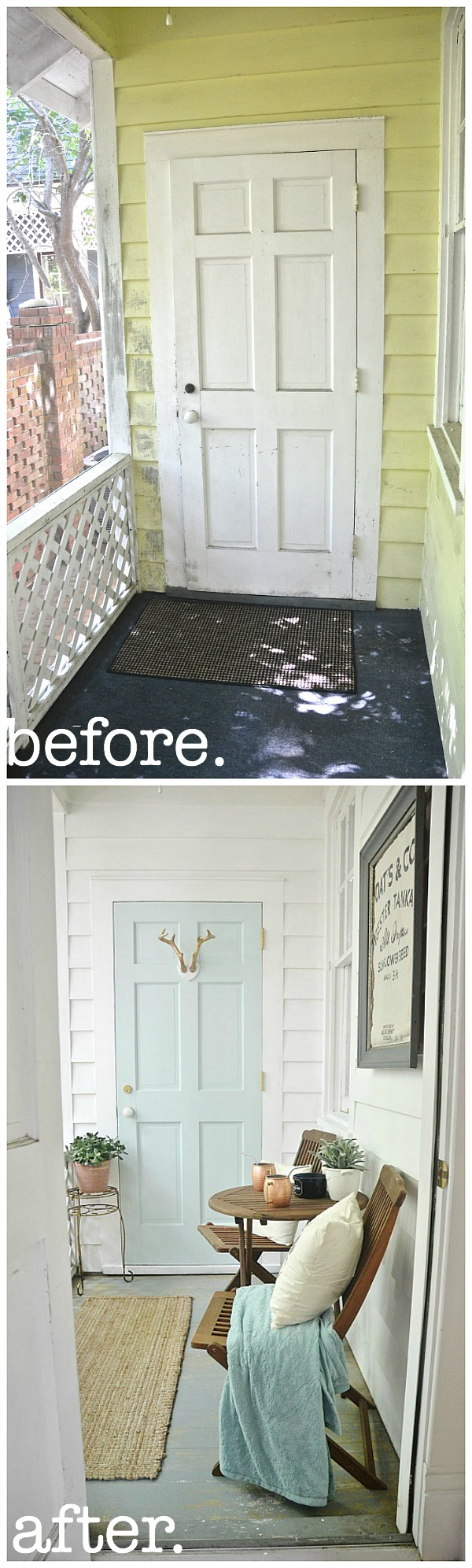 Sunroom makeover - For practically free!