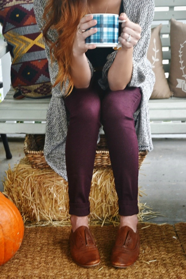 Fall Porch Preview & Some Fall Shoes