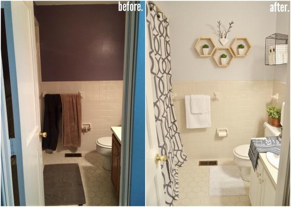 Bathroom Makeover - ON A SERIOUS BUDGET!