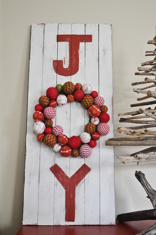 DIY Joy Sign, DIY Joy Sign