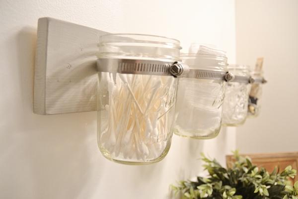 DIY Mason Jar holder - the super easy way!