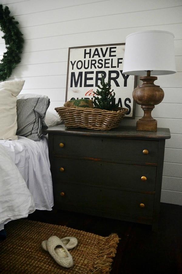Christmas bedroom, Simple Christmas Bedroom