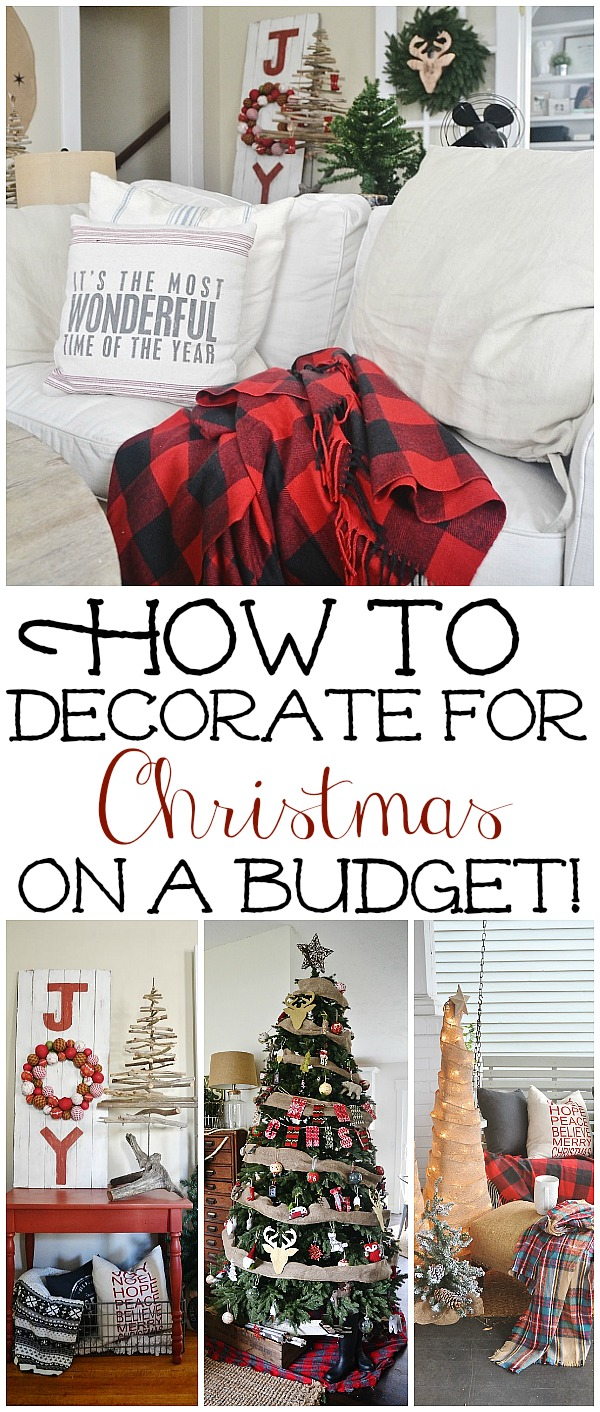 How To Frugally & Quickly Decorate For Christmas Liz Marie
