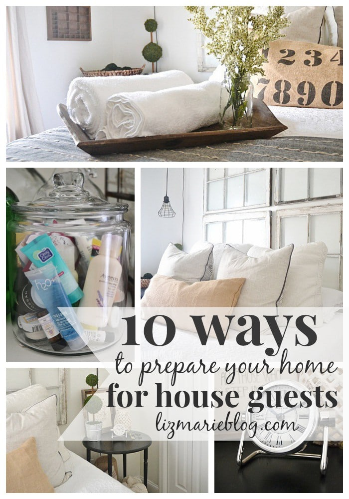 How to prepare your home for guests - Great tips!