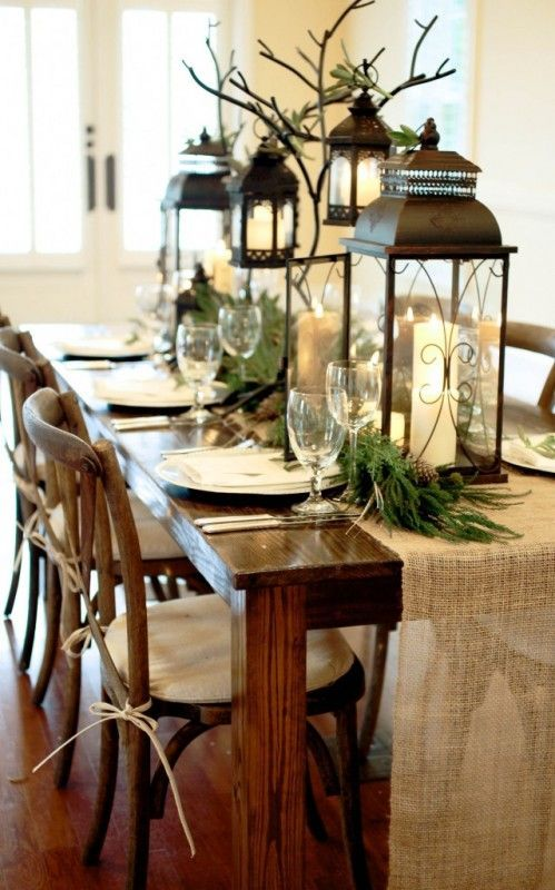 Winter decorations table ideas more liz