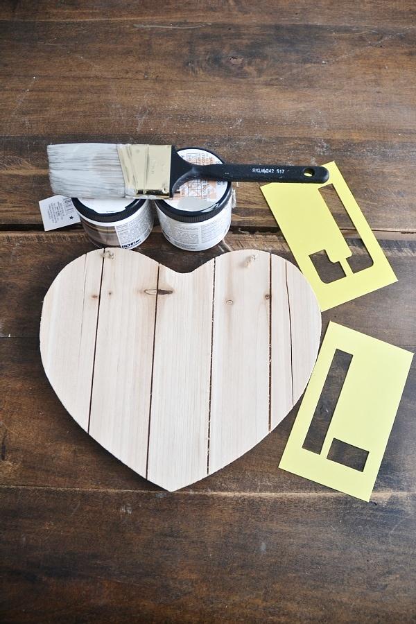 Diy Wooden Heart Valentines Day Art Liz Marie Blog