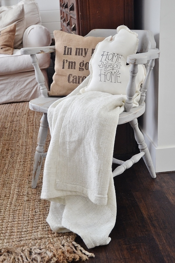 Gray chair, A Cozy Gray Chair Makeover