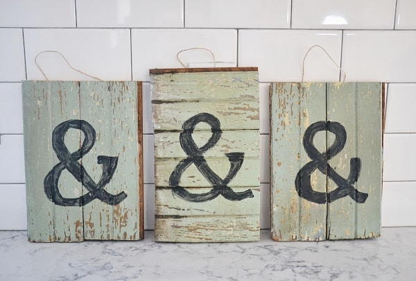 DIY Barn wood Scrap Art