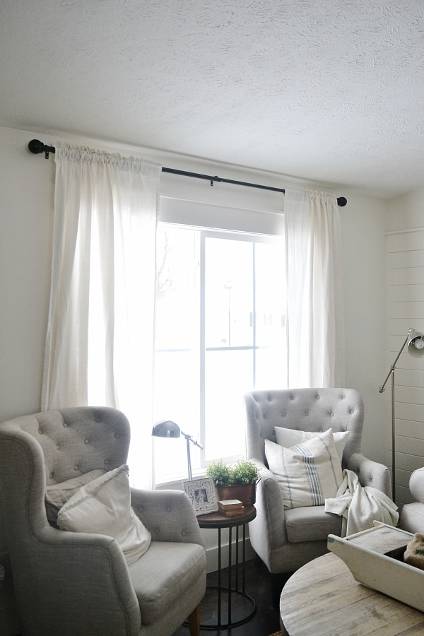New Curtains Some Diy No Sew Curtains Liz Marie Blog