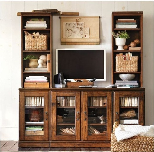 bookshelves-around-tv-pottery-barn