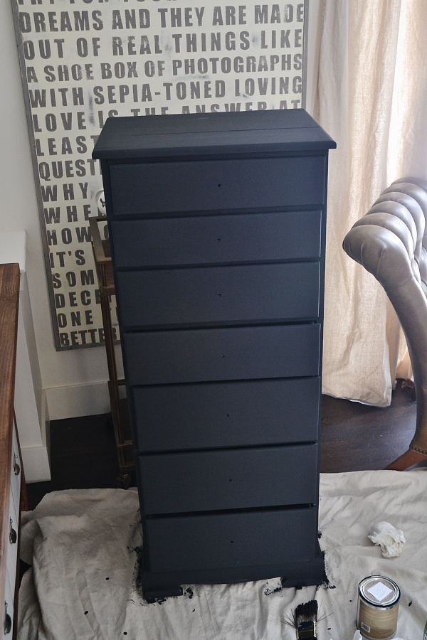 Antique Office Drawers, DIY Antique Office Drawers Makeover