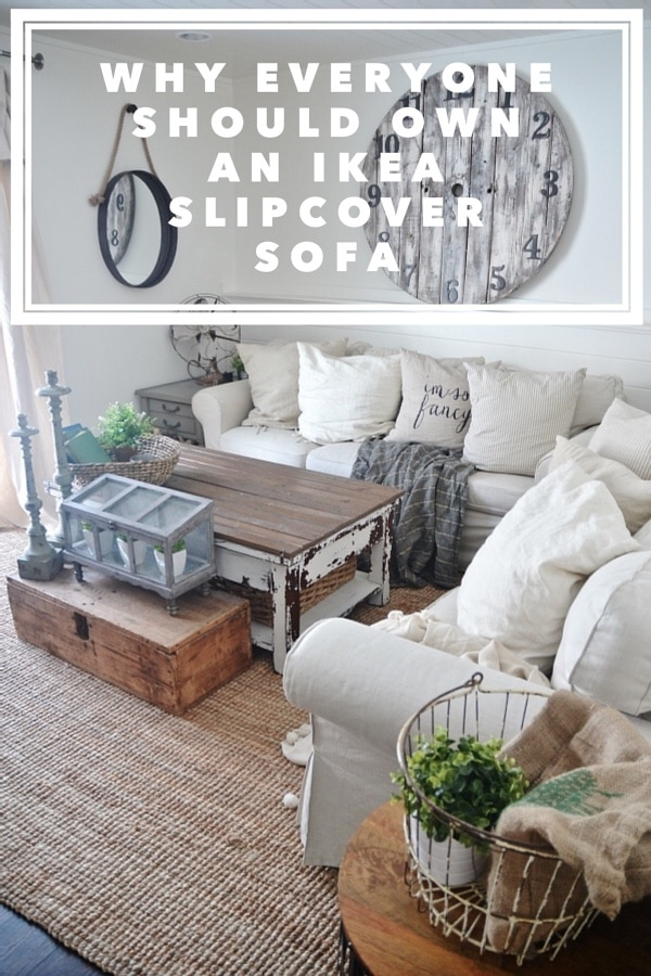 The pros & cons of the Ikea Ektorp Slipcover sofa - & why I think everyone should own one.