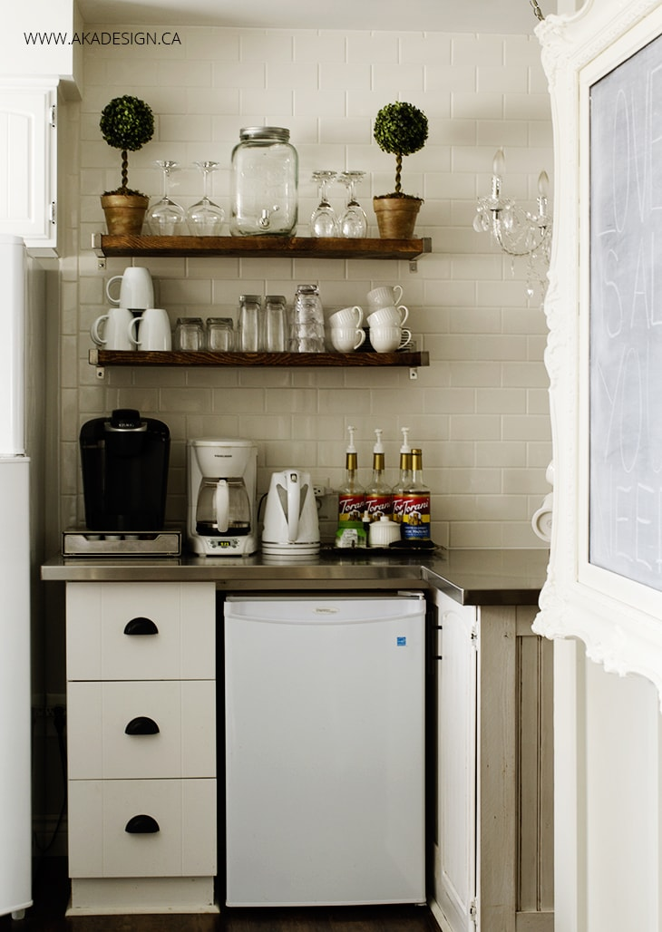 Subway-Tile-Wall-Rustic-Coffee-Bar-Kitchen