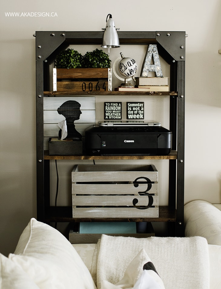 rustic-industrial-shelf-styling