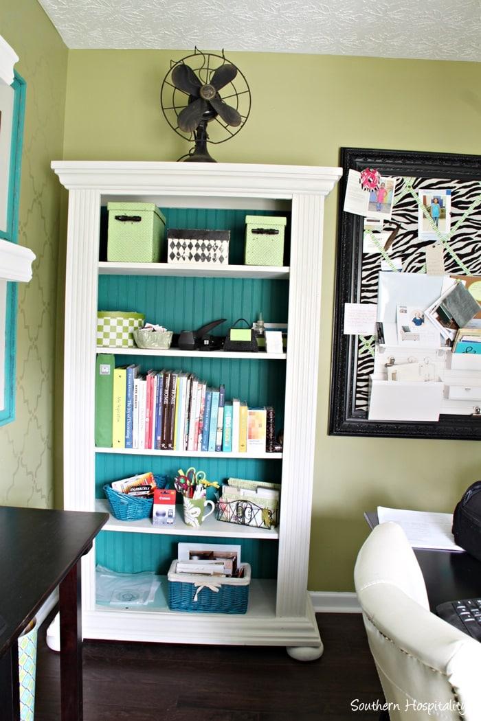 office-white-bookshelf-paint