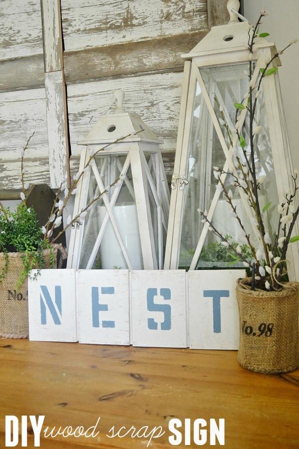 Nest Sign, DIY Nest Sign