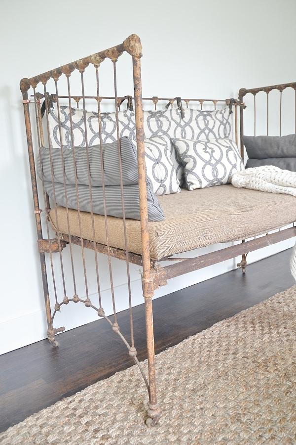 DIY crib bench, DIY Crib Bench