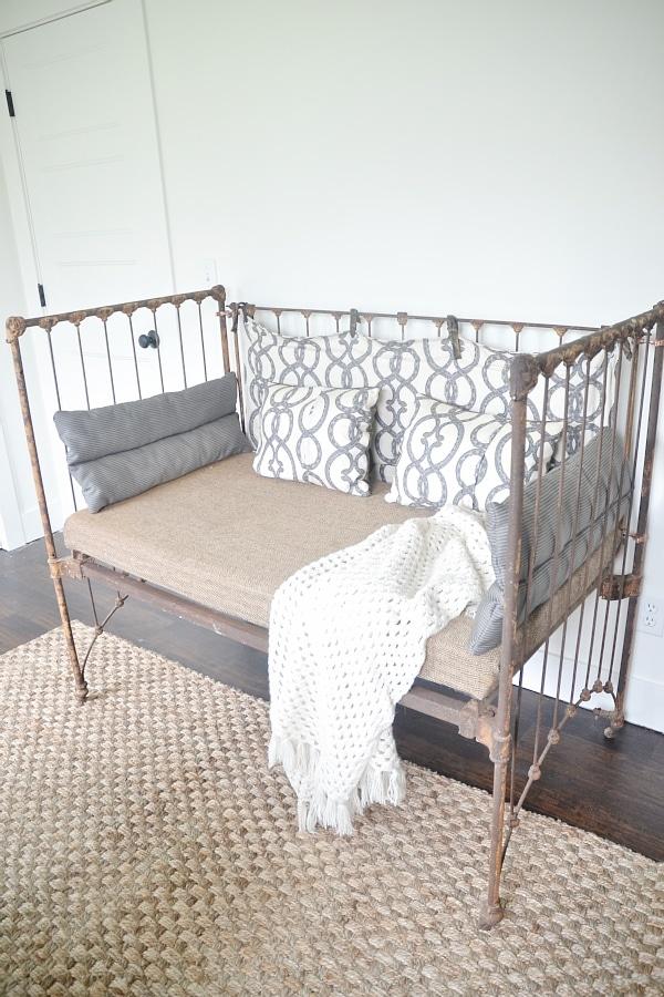 Diy Crib Bench Liz Marie Blog