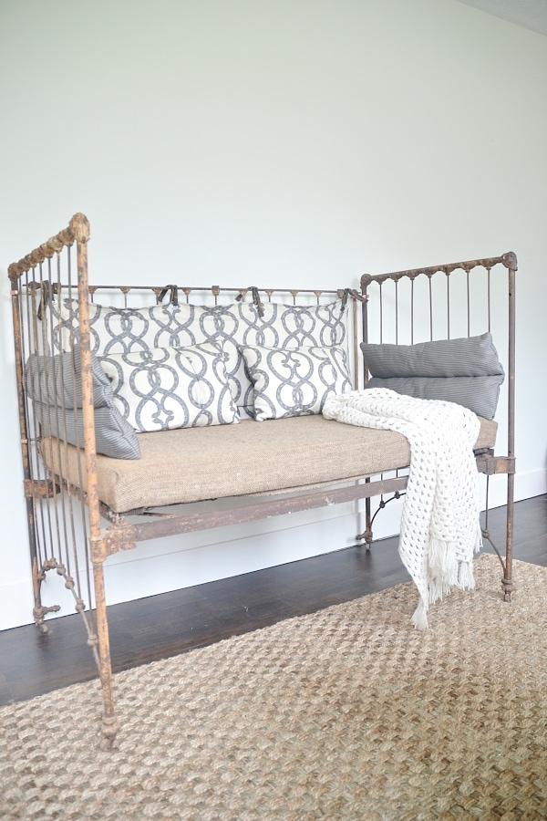 DIY Crib Bench