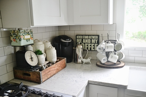 kitchen coffee station, Kitchen Coffee Station