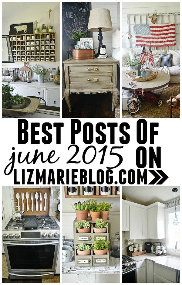 Best posts on Lizmarieblog.com - A must pin for home decor, furniture, decorating, painting, & lots of inspiration.