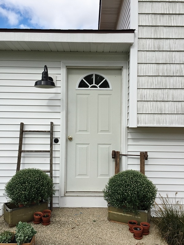 Simple Fall Stoop Amp Front Door Makeover Liz Marie Blog