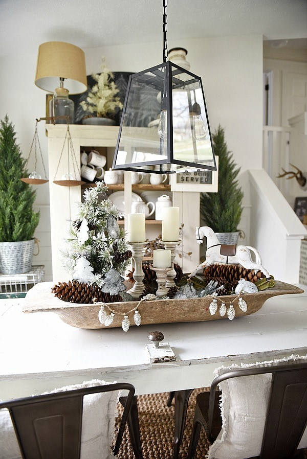 Christmas Dough Bowl Centerpiece Liz Marie Blog