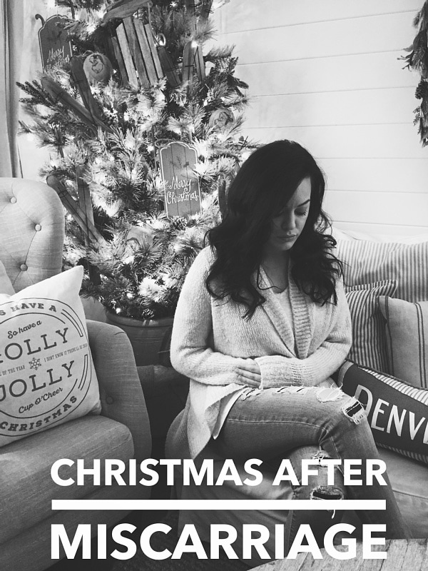 Christmas After Miscarriage