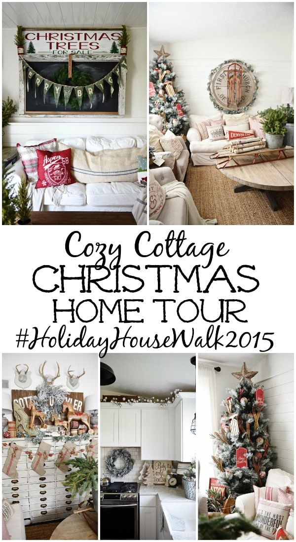 Cozy Cottage Christmas, Cozy Cottage Christmas Living Room