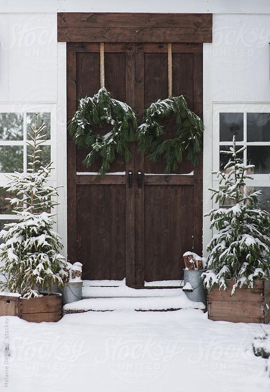 rustic winter decor, Favorite Rustic Winter Decor