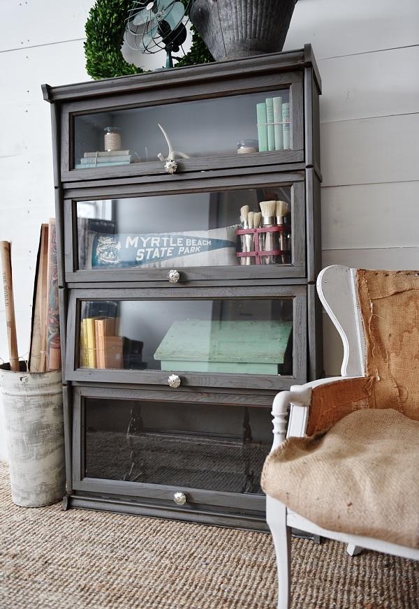 Vintage bookshelf makeover, Vintage Bookshelf Makeover