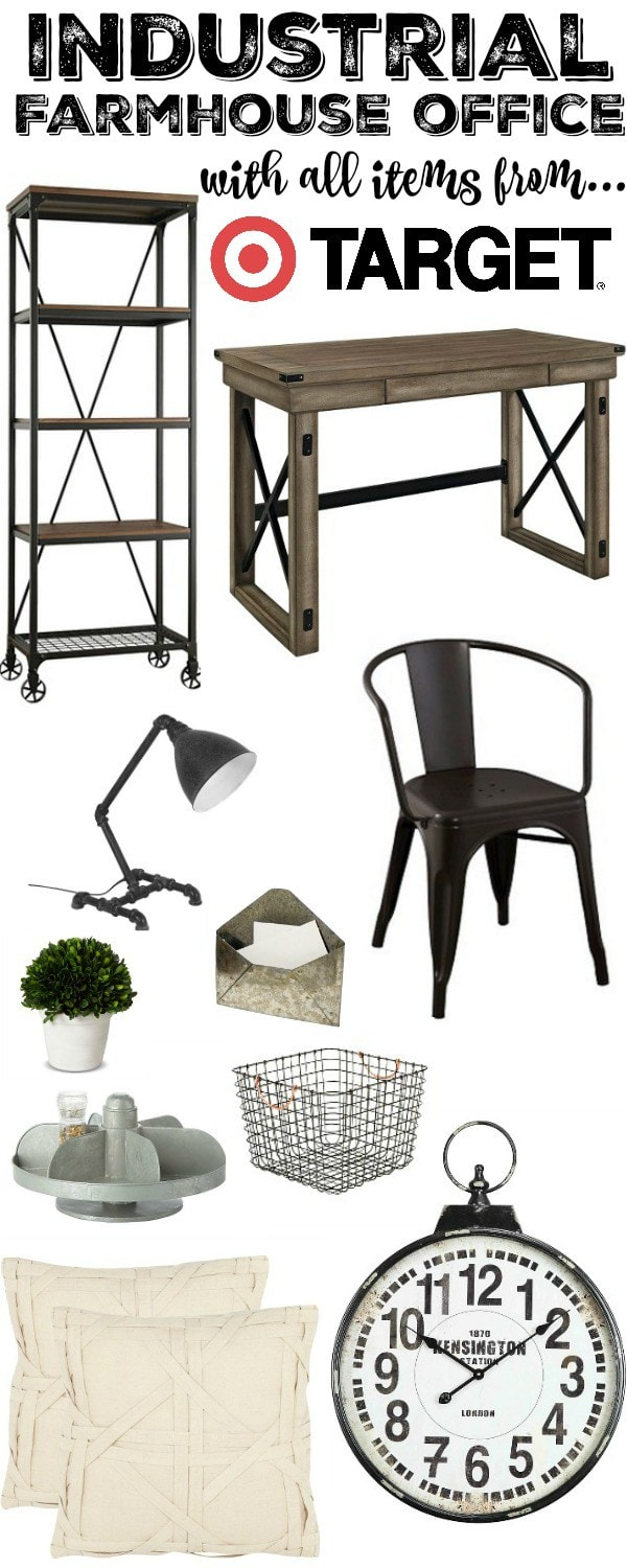 Industrial furniture & home decor, Industrial Furniture & Home Decor From Target