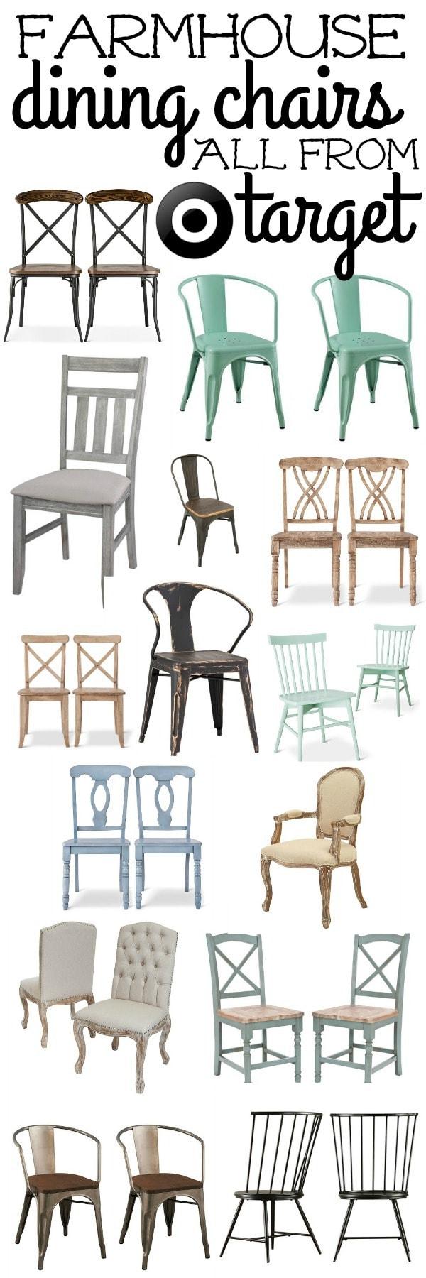 quality design 87db8 ce1ab Farmhouse Dining Chairs - Liz Marie Blog