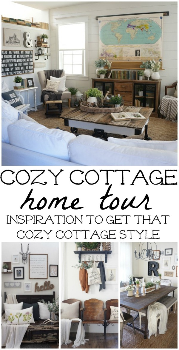 cozy cottage, #LMBLovesHouses: Cozy Cottage HomeFront
